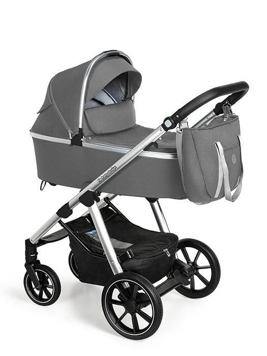 BABY DESIGN Kočík kombinovaný Bueno 207 Grey,  V001125