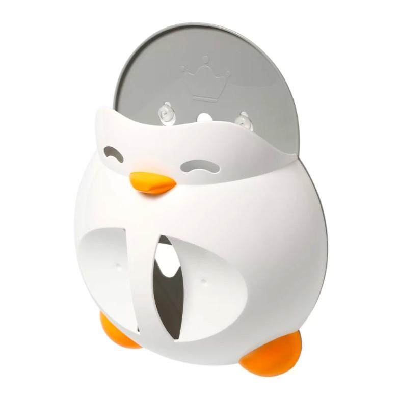 BABYONO Držák na hračky do koupele Penguin Martin