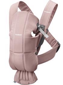 BABYBJÖRN Nosič Mini Dusty Pink cotton