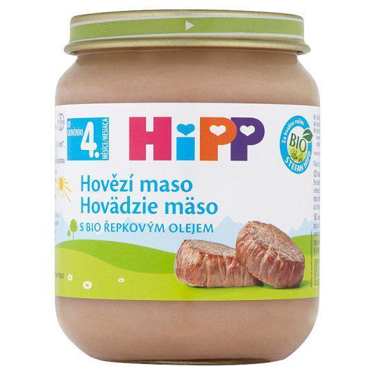 Príkrm mäsový BIO Hovädzie mäso 125g Hipp
