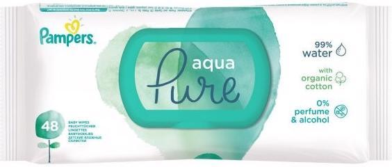 Obrúsky vlhčené Aqua Pure 48 ks Pampers