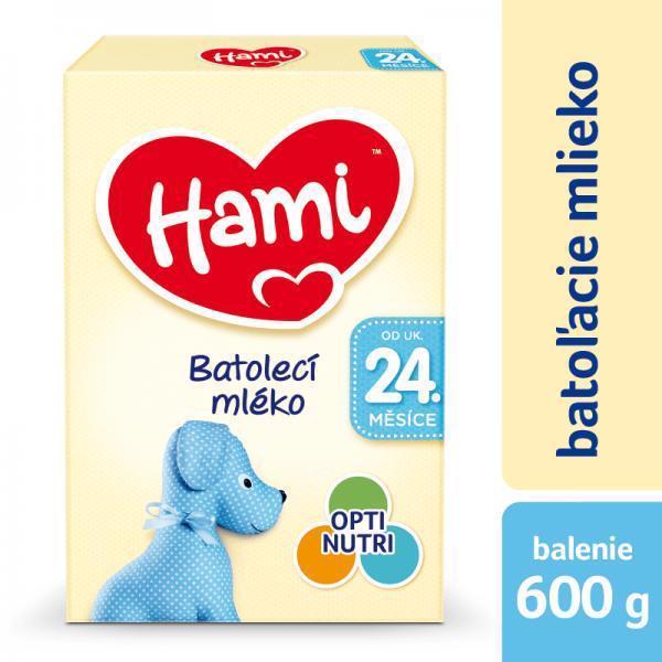 Mlieko dojčenské HAMI 24+ (600g)