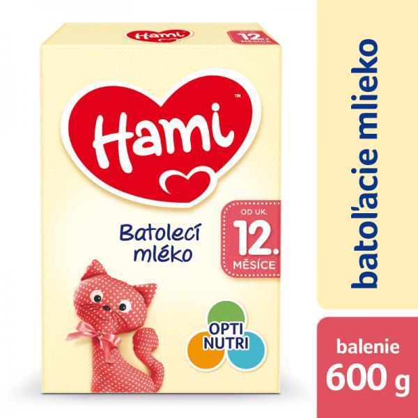Mlieko dojčenské HAMI 12+ (600g)