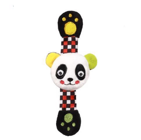 BABYONO Hrkálka na ruku C-MORE panda Archie