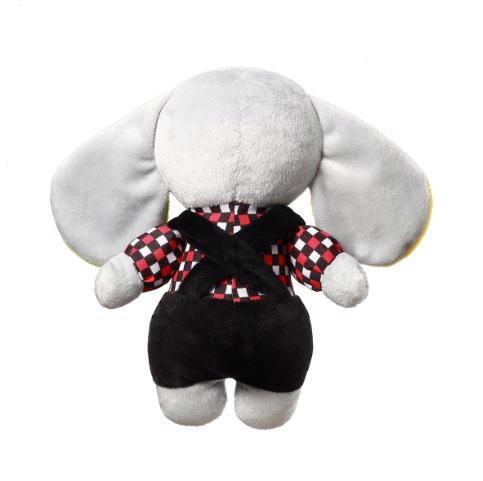 BABYONO Hračka plyšová s hrkálkou C-MORE slon Andy 24 x 27 cm