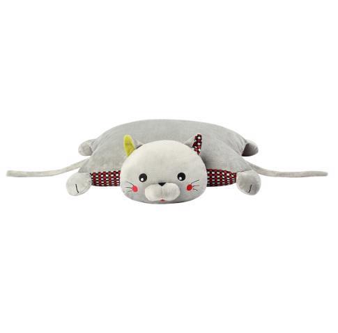 Hračka vankúšik C-MORE mačka Bruno 44x17cm
