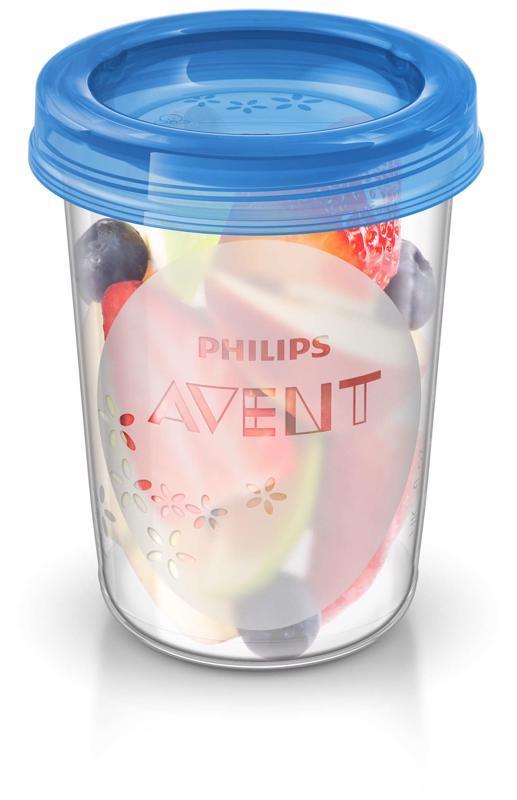 Avent VIA poháriky 240 ml 5 ks