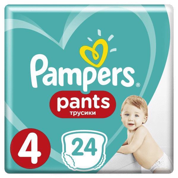 Nohavičky plienkové Pants 4 MAXI 9-14kg 24ks Pampers