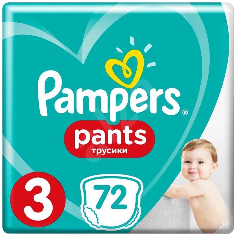 Nohavičky plienkové Pants 3 MIDI 6-11kg 72ks Pampers