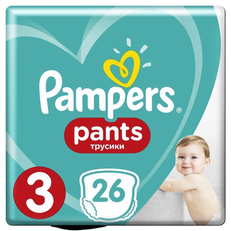 Nohavičky plienkové Pants 3 MIDI 6-11kg 26ks Pampers