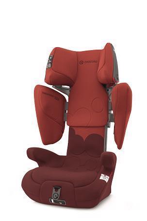 CONCORD Autosedačka Transformer Tech (15-36 kg) Autumn Red