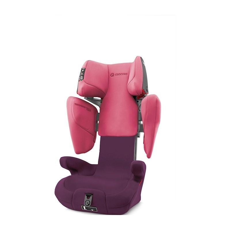 CONCORD Autosedačka Transformer Tech (15-36 kg) Rose Pink