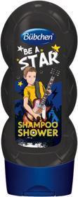 BÜBCHEN Kids šampón a sprchový gél 2v1 Be a Star, 230 ml,  V001174