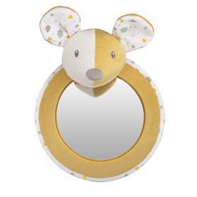 CANPOL BABIES Mazlíček hebký se zrcátkem do auta Mouse