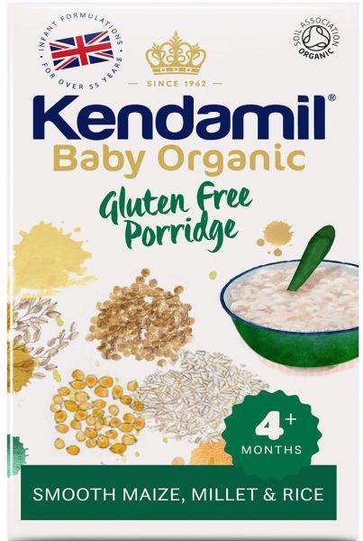 KENDAMIL Bio/organická dětská bezlepková kaše (150g), Expirace 4.12.2021