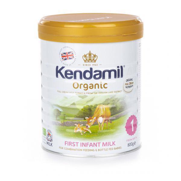 KENDAMIL 100% BIO/organické plnotučné kojenecké mléko 1 (800 g)