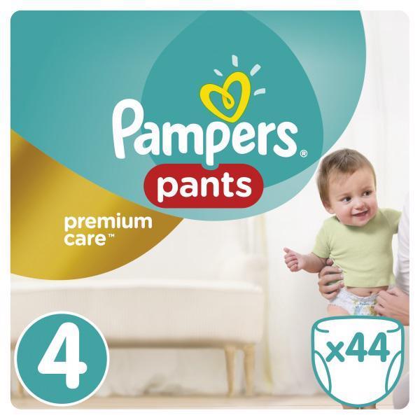Nohavičky plienkové Premium Care Pants 4 MAXI 9-14kg 44ks Pampers