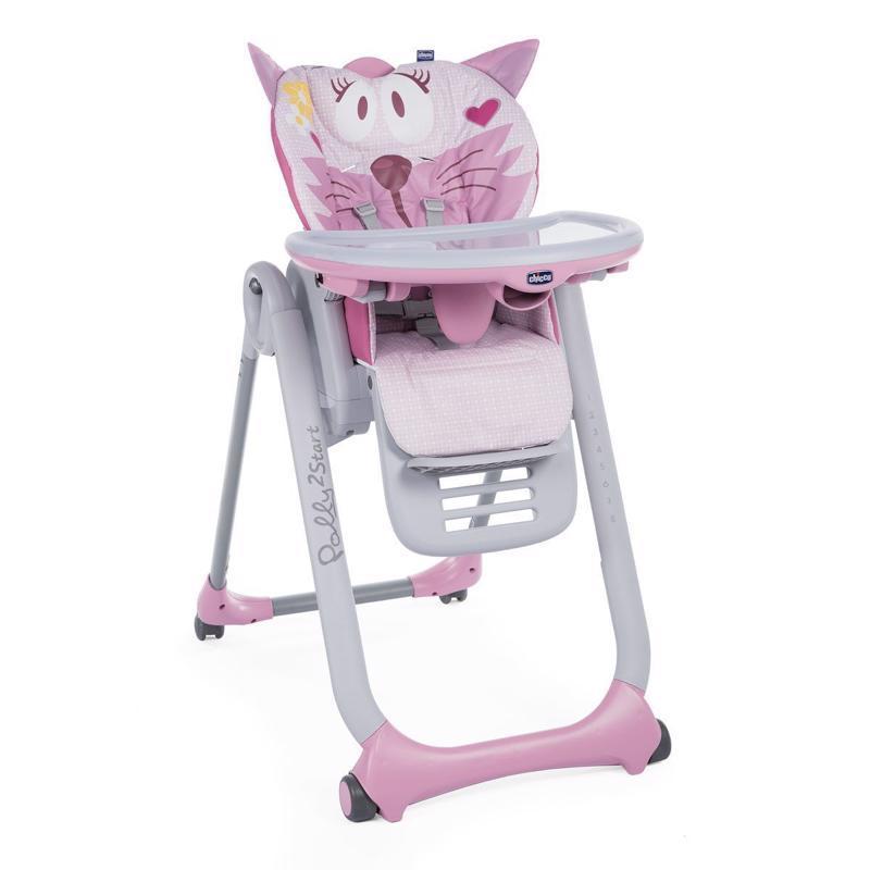 Stolička jedálenská Polly 2 Start - Miss Pink