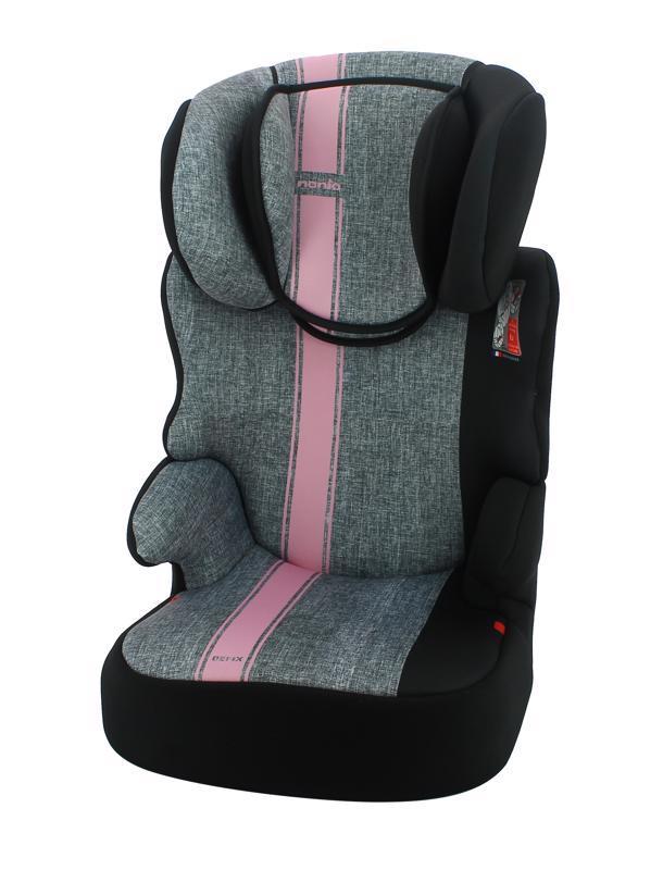 Autosedačka Befix First Linea Grey Pink 15-36kg