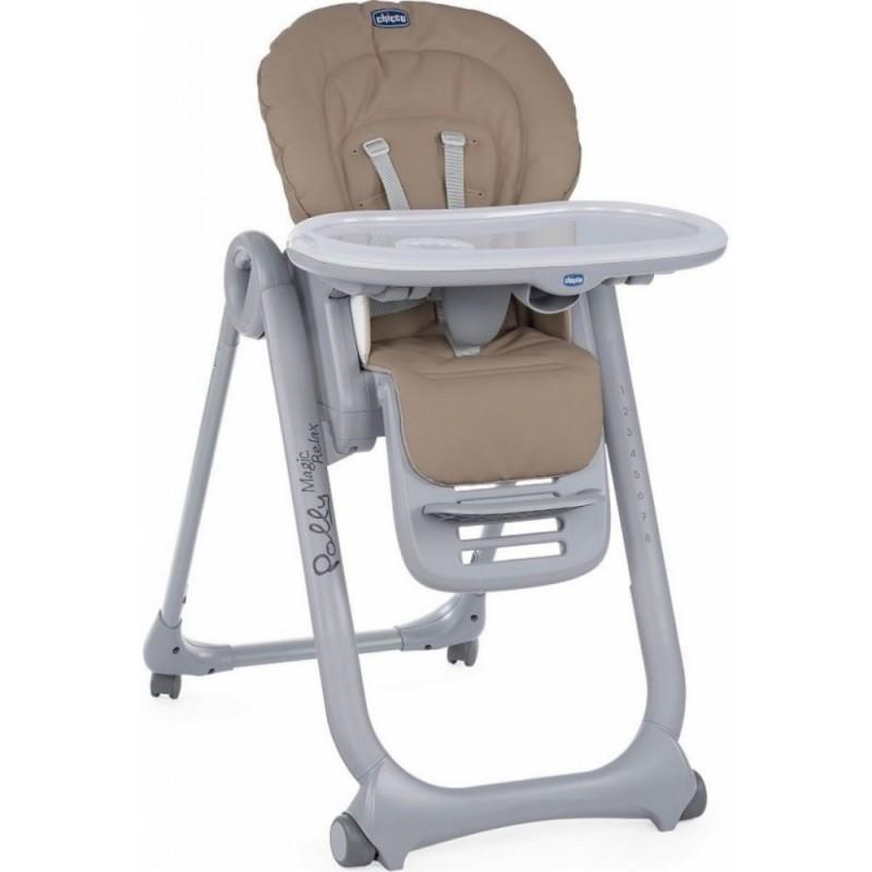 CHICCO Detská jedálenská stolička Polly Magic Relax - Cocoa