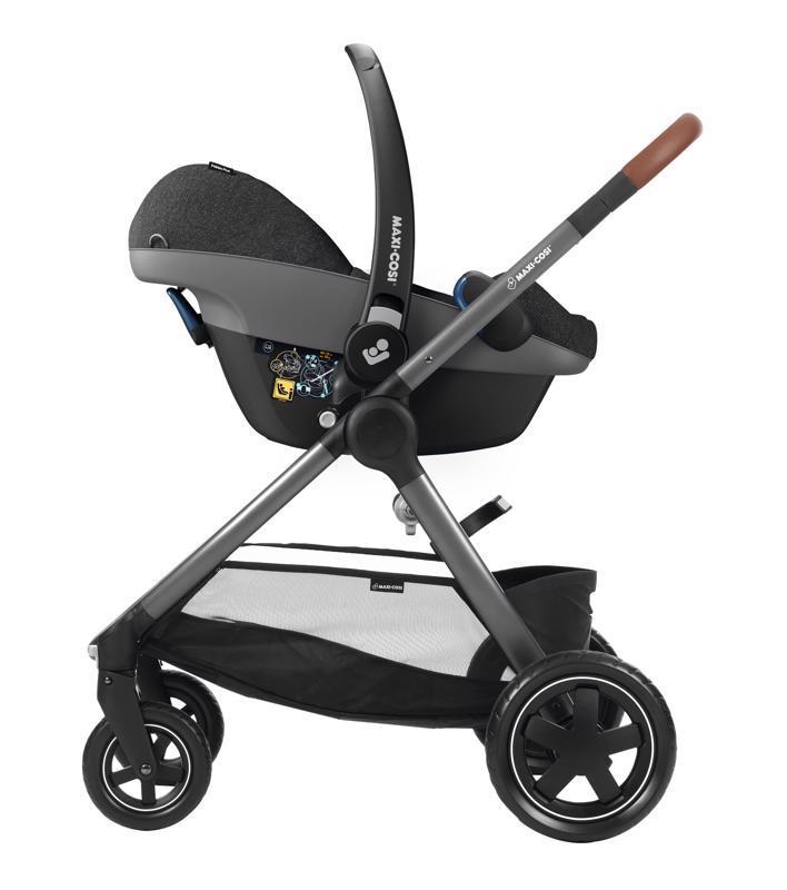 Autosedačka Pebble Plus Sparkling Grey 0-13kg 2019