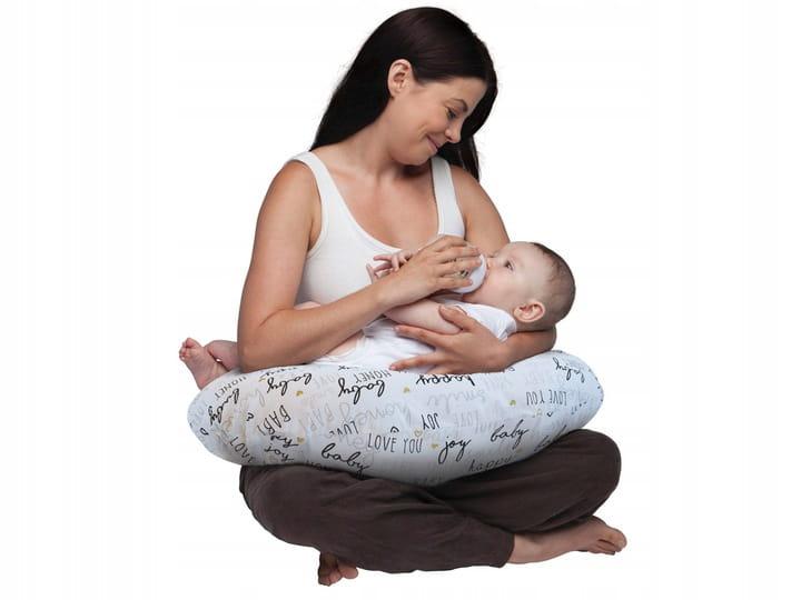 CHICCO Vankúš na dojčenie Boppy - Hello Baby