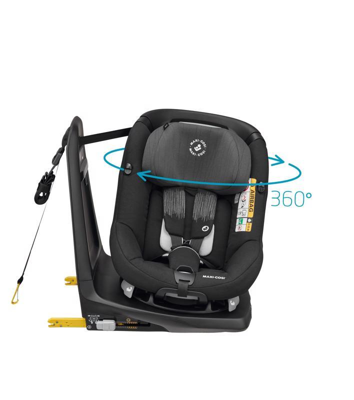 Autosedačka AxissFix Frequency Black 0-18kg 2019