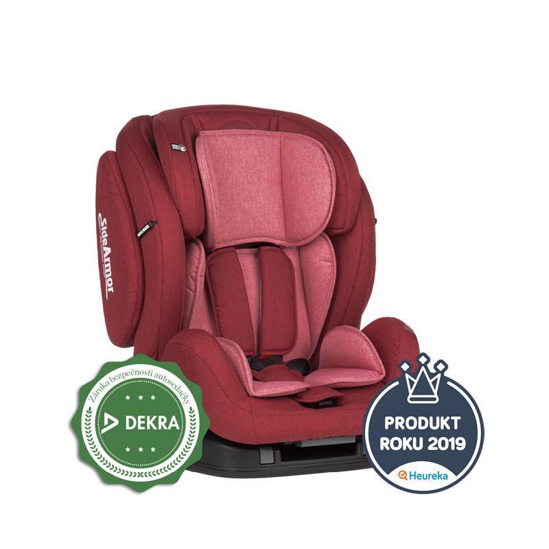 PETITE&MARS Autosedačka Prime II (9-36 kg) - Isofix Red