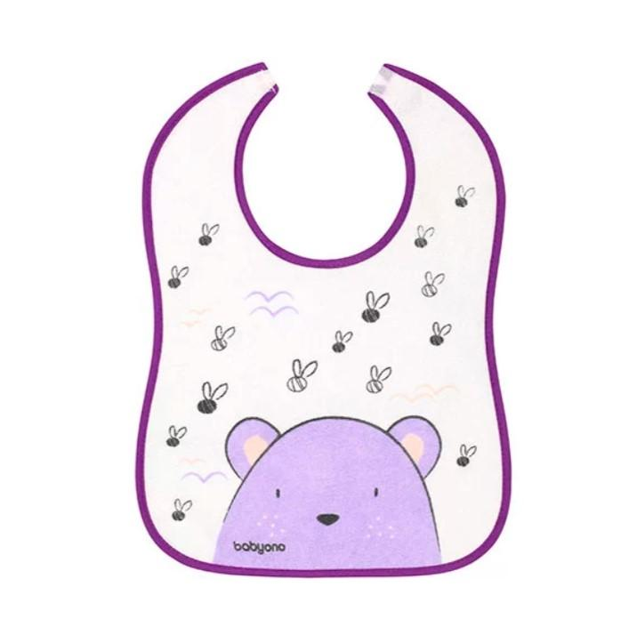 BABYONO Podbradník purple,  V000300