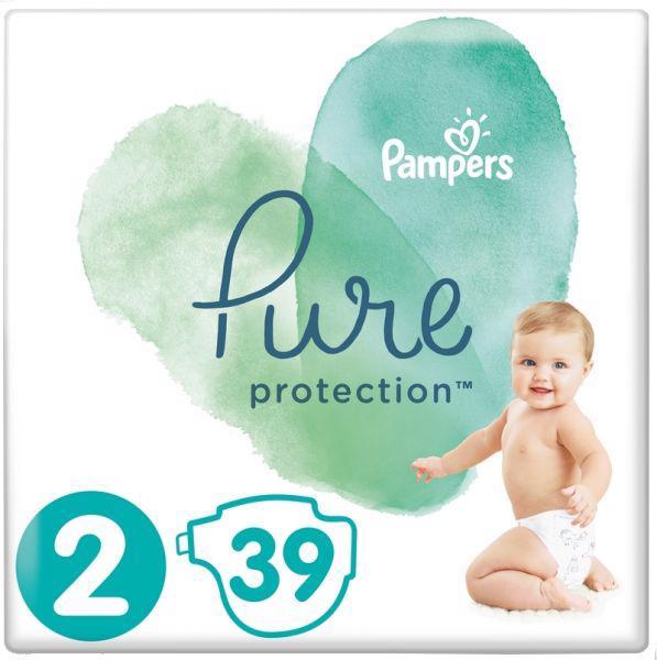 Plienky Pure Protection 2 MINI 4-8kg 39ks Pampers