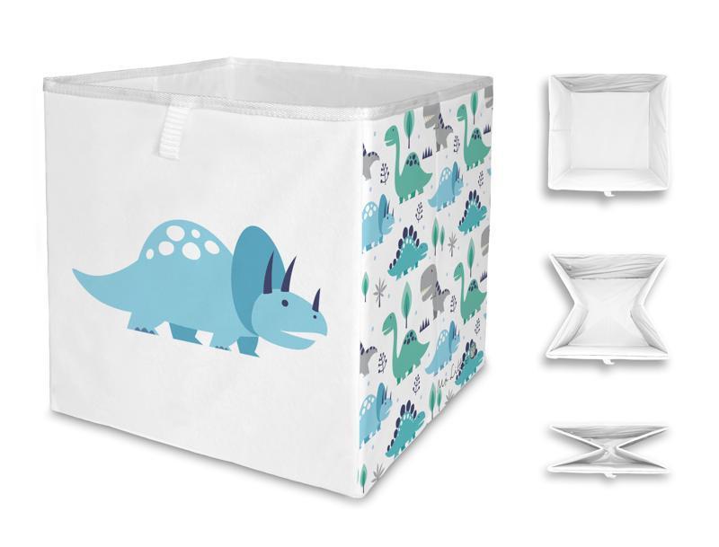 MR. LITTLE FOX Detská úložná krabica Dino world