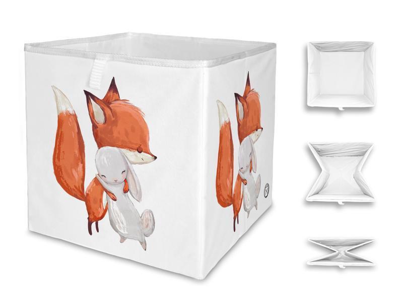 MR. LITTLE FOX Detská úložná krabica Little friendship