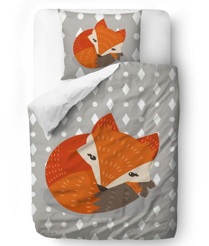 MR. LITTLE FOX Detské obliečky friends Good rest white,  V002055