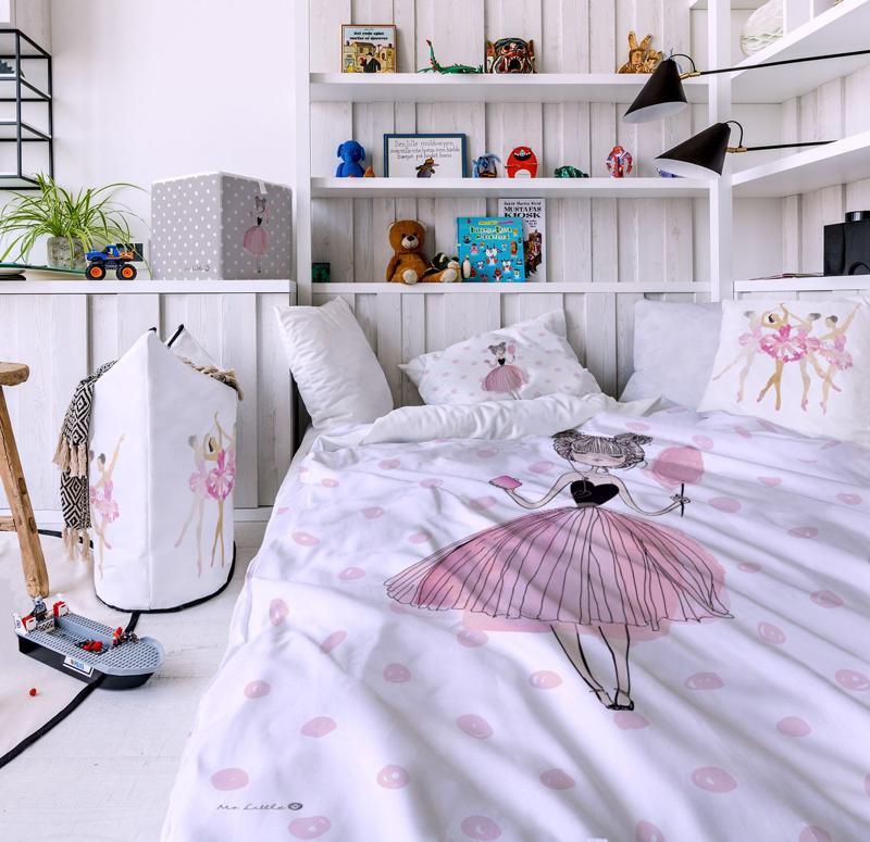 MR. LITTLE FOX Detské obliečky Pink girl,  V002055