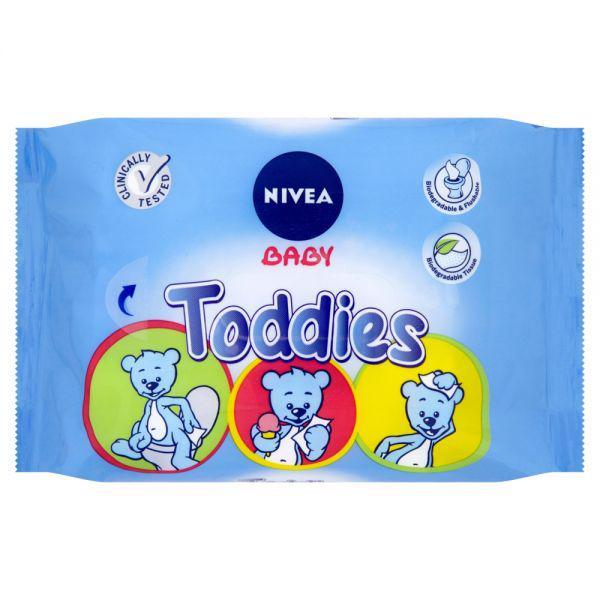 Obrúsky vlhčené Multi Toddies 60ks Nivea Baby