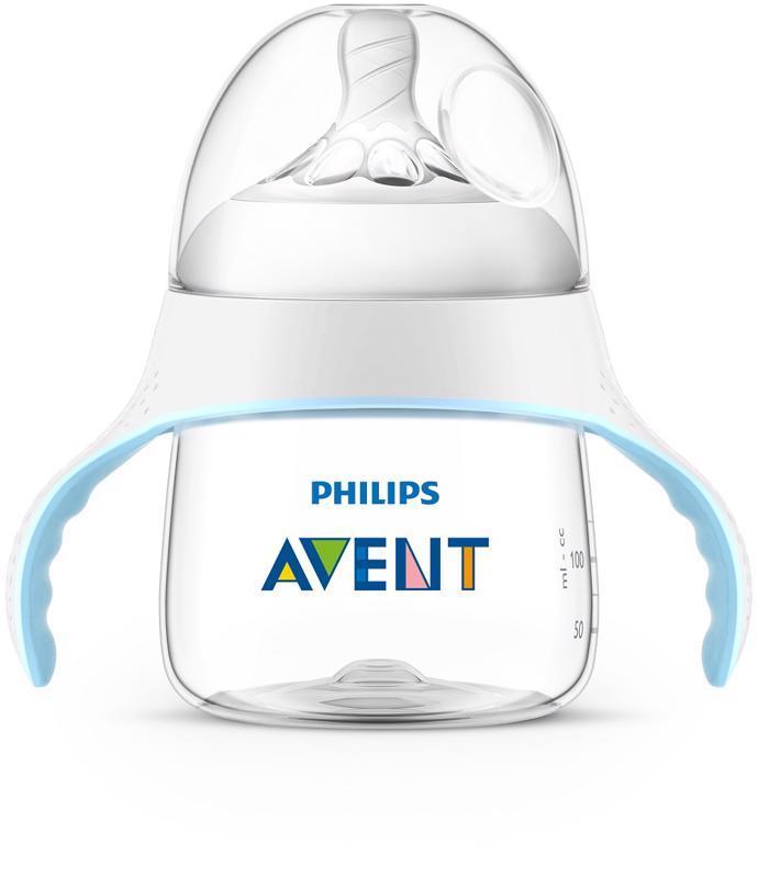 Avent fľaša na učenie Natural.2  150 ml,  priesvitný SKLADOM