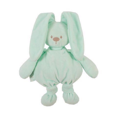NATTOU Hračka plyšová zajačik Lapidou cuddly mint 36 cm