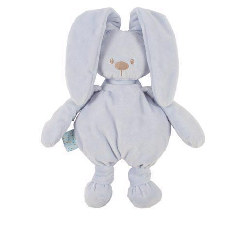 NATTOU Hračka plyšová zajačik Lapidou cuddly blue 36 cm