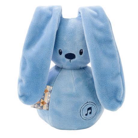 Hračka hudobná zajačik Lapidou dark blue