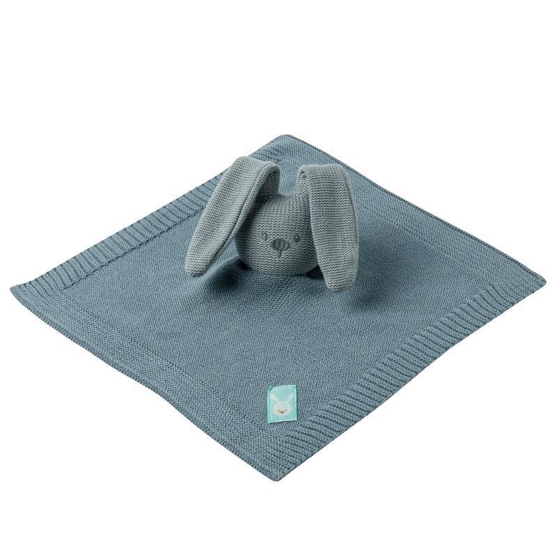 NATTOU Maznáčik pletený bavlnený Lapidou coppergreen 32 x 32 cm