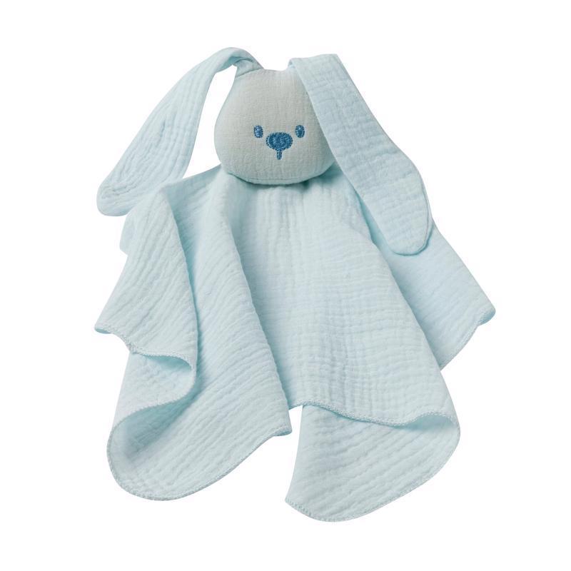 NATTOU Maznáčik bavlnený Lapidou aqua blue 44 x 44 cm