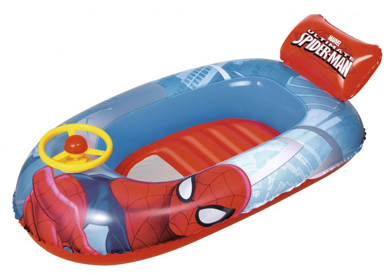 BESTWAY Čln nafukovací Spiderman, 112 x 70 cm