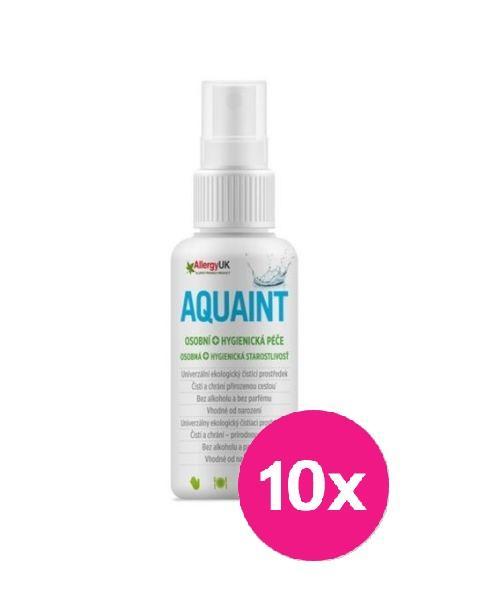 Aquaint 100% ekologická čistiaca voda 50 ml x 10ks,  V001101