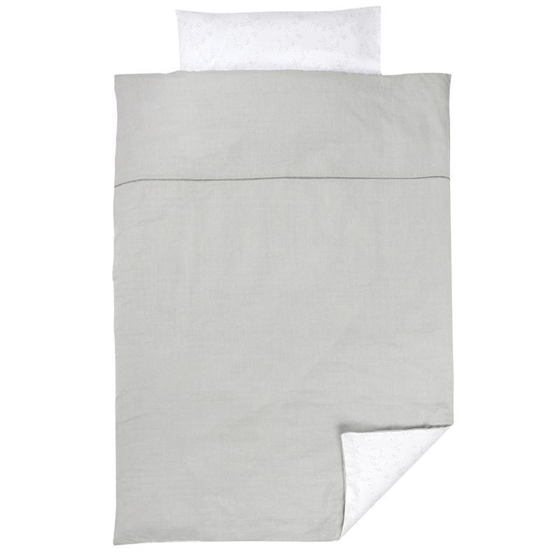 Obliečky na posteľ 100% PURE COTTON GREY