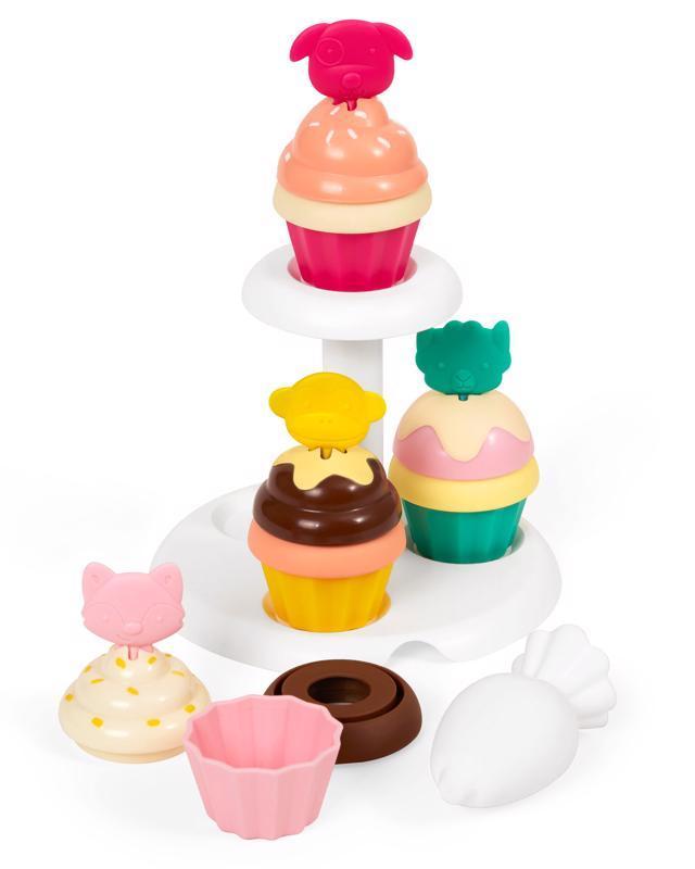 Zoo stohovacie Cupcakes s meniacimi sa farbami 3y+