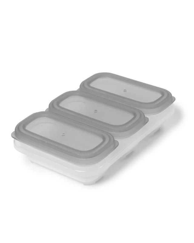 SKIP HOP Nádobky na uskladnenie jedla stohovateľné 3 x 118 ml,  V000100
