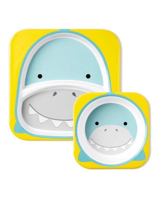 Zoo Jedálenský set melamínový Žralok 6m+