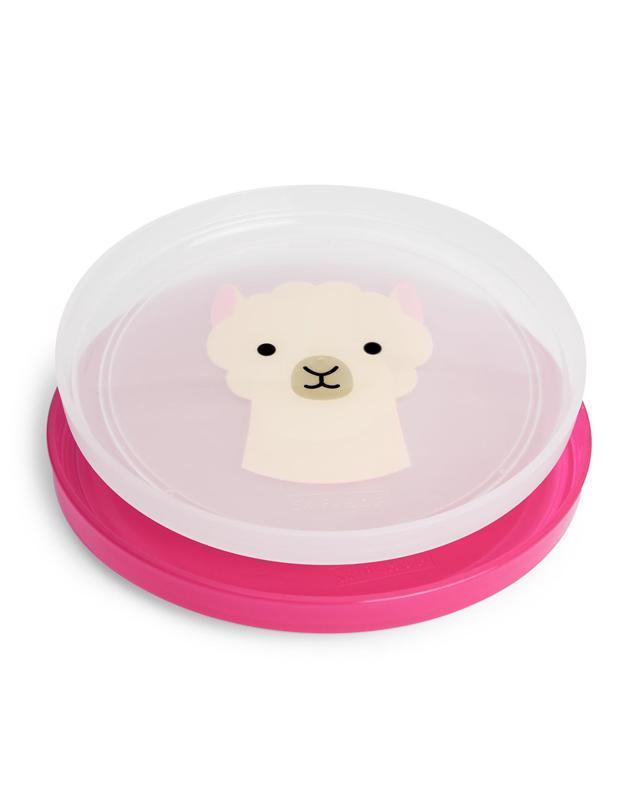 SKIP HOP Zoo tanieriky protišmykové 2 kusy Lama 6 m+