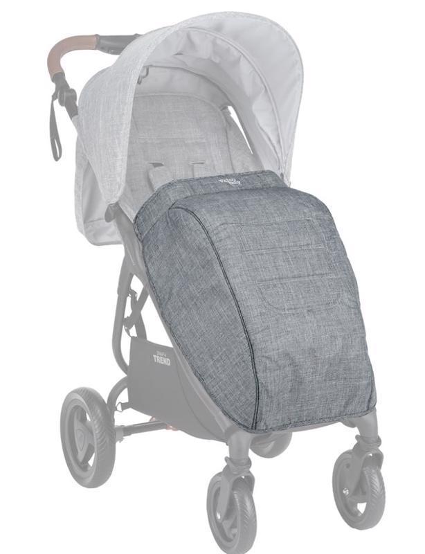 VALCO BABY Nánožník na kočárek Trend 4 Tailor Made Grey Marle