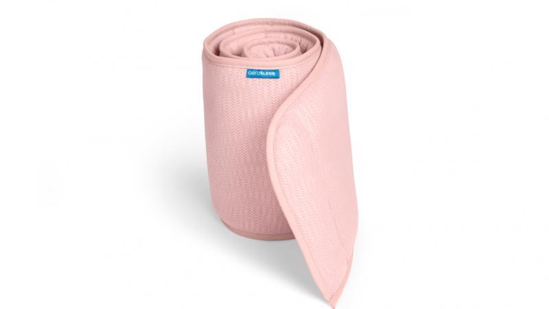 AEROSLEEP Chránič do postieľky AERO Pink